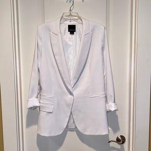 White Trouvé Suit Jacket/Balzer